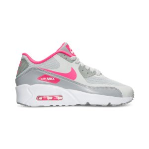 Nike Girls' Air Max 90 Ultra 2.0 Running Sneakers from Finish Line - Finish Line Athletic Shoes - Kids & Baby - Macy's