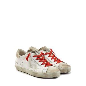 Super Star Leather Sneakers - Golden Goose | WOMEN | US STYLEBOP.COM