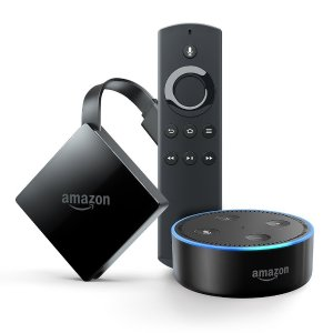 All-New Fire TV with 4K Ultra HD + Echo Dot