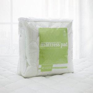 低至CDN$77.99限今天:ExceptionalSheets 竹纤维带床套加厚垫 多种尺寸可选