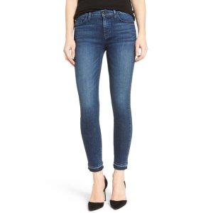 HUDSON Jeans Nico Released Hem Ankle Skinny Jean