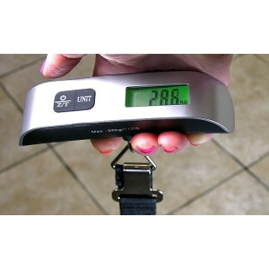 72% Off on Digital Luggage Scale | Groupon Goods
