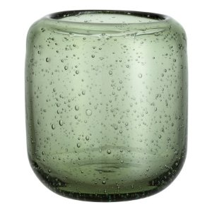 Glass Tealight Holder | Dark green | H&m home | H&M US