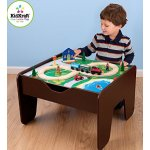 Kidkraft 2-in-1 Activity Table Espresso