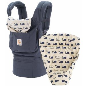 Ergobaby Original Bundle of Joy Infant Carrier with Easy Snug Insert - Marine