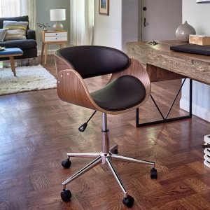 Monroe Adjustable Office Chair | Overstock.com Shopping - The Best Deals on Task Chairs