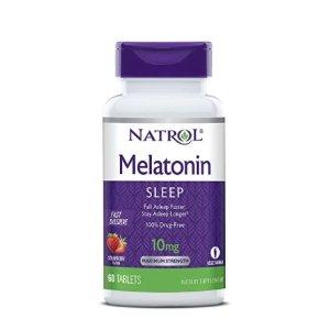 $4.83Natrol Melatonin Fast Dissolve Tablets, Citrus Punch, 10mg, 60 count