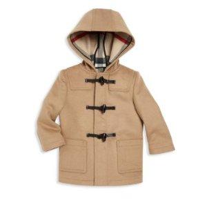 Baby's & Toddler Boy's Brogan Wool Duffel Coat