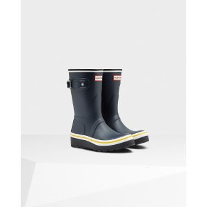 Women's Original Buoy Stripe Wedge Boots | Official Hunter Boots Site