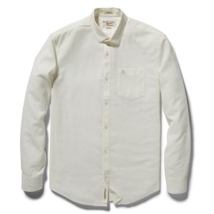COTTON LINEN CHMABRAY SHIRT