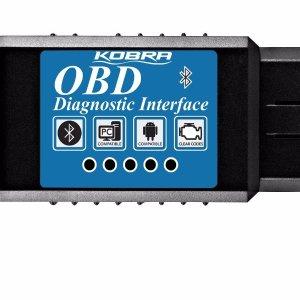 KOBRA OBDII OBD2 Bluetooth Auto Diagnostic Scanner and Car Scan Tool