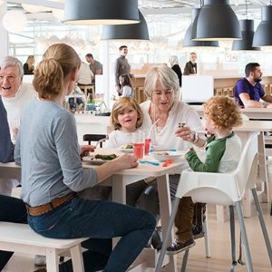周末免费用餐IKEA店内购物满$100即可享受免费用餐