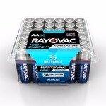 $5.97白菜价:Rayovac 36个AA碱性电池