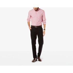 Signature Stretch Khaki, Slim Fit | Black | Dockers® United States (US)
