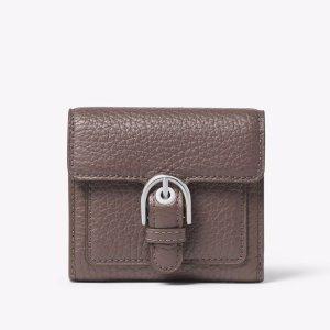 Cooper Medium Leather Carryall Card Holder   Michael Kors