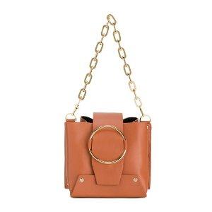 Yuzefibrown small Delila bucket bag