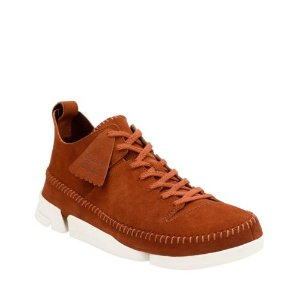 Trigenic Flex Dark Tan Suede - Clarks Original Shoes for Men - Clarks® Shoes Official Site