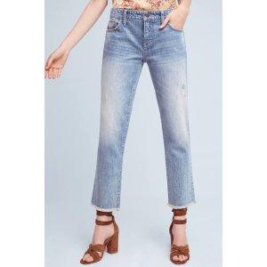 Pilcro Hyphen Mid-Rise Boyfriend Jeans | Anthropologie
