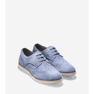 OriginalGrand Waterproof Wingtip Oxfords in Ashland | Cole Haan