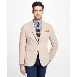 Regent Fit Garment-Dyed Sport Coat - Brooks Brothers