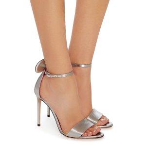 Minnie Lamé Sandals   Moda Operandi