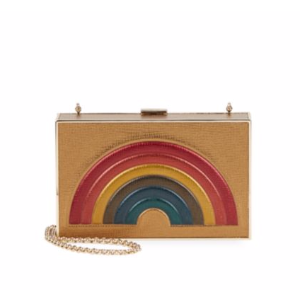 Anya Hindmarch - Imperial Embossed Leather Clutch - saksoff5th.com