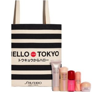 Free 6-pc Gift Setwith any $75 Shiseido Purchase @ Bloomingdales