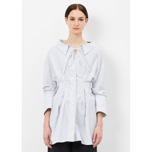 Jacquemus White / Blue Stripe La Robe Arlesienne