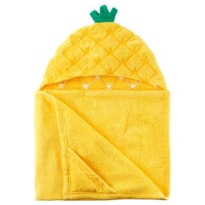Pineapple Hooded Towel   Carters.com