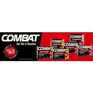 Combat 大蟑螂杀手饵胶板(18个装)