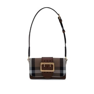 Burberry House Check Embossed Bridle Small Belt Shoulder Crossbody