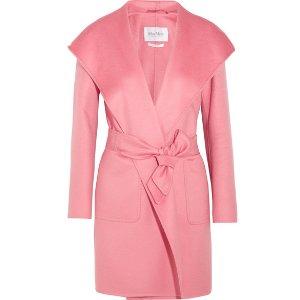 Max Mara | Hooded cashmere coat