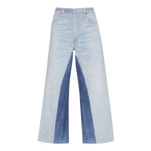 Cora Cropped Wide-Leg Jeans | Moda Operandi