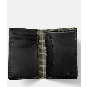 Walker Leather Vertical Flap Wallet - JackSpade
