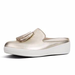 Slip-On Leather Mules