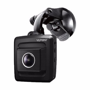 Vupoint Solutions DVR-G556-VP HD Ultra Wide Viewing Angle Motion Detection Dash Cam with 16GB Samsung SD Card