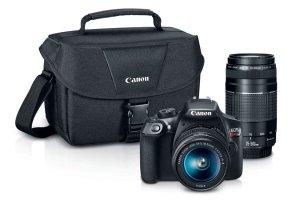 $449 (原价$949) 包邮Canon EOS Rebel T6 (带18-55mm和75-300mm镜头) 套装