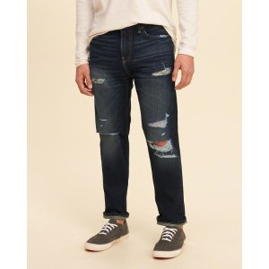 Guys Vintage Straight Jeans | Guys Bottoms | HollisterCo.com