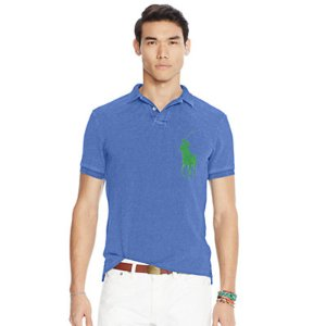 Slim Fit Cotton Mesh Polo - Slim Fit � Polo Shirts - RalphLauren.com