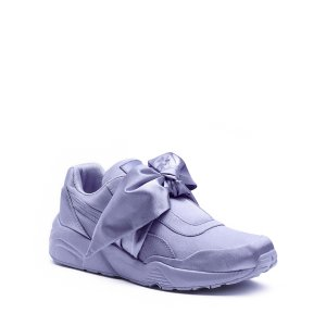 Women's Satin Bow Sneakers