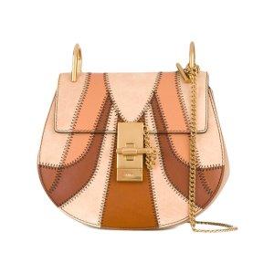 Chloé 'Drew' Panelled Shoulder Bag - Farfetch