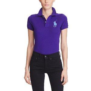 Skinny-Fit Big Pony Polo Shirt - Polo Shirts � Women - RalphLauren.com