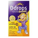 Ddrops 宝宝维生素D3滴剂 600 IU 100滴(2.8ml)