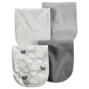 4-Pack Burp Cloths | Carters.com