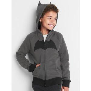 GapKids | DC™ Justice League raglan zip hoodie