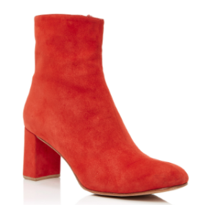 Agnes Suede Ankle Boots by Maryam Nassir Zadeh