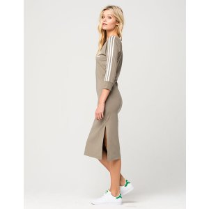 ADIDAS 3 Stripes Midi Dress | Dresses