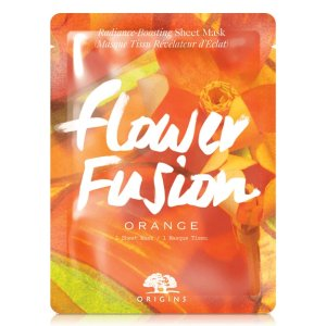 Flower Fusion™ Orange Radiance-Boosting Sheet Mask