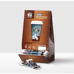 VIA® Ready Brew Decaf Italian Roast | Starbucks® Store
