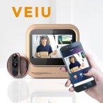 Eques VEIU Rechargeable Door Camera Peephole Viewer